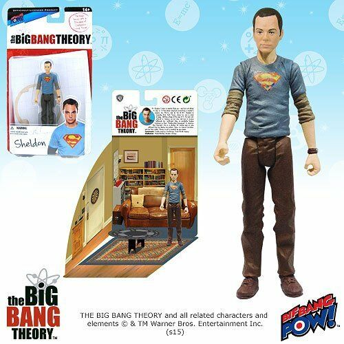 The Big Big Big Bang Theory Sheldon in Superman T-Shirt 54a4fc