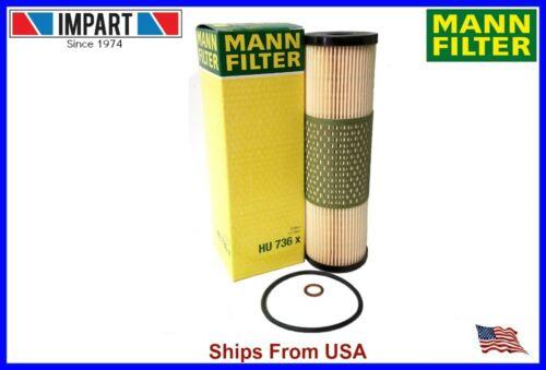 Mercedes Benz Oil Filter 120 180 00 09 NEW MANN HU736x