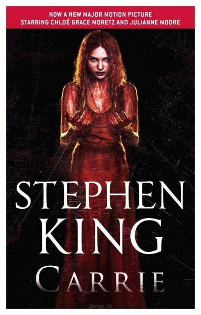 """AS NEW"" King, Stephen, Carrie, Paperback Book"