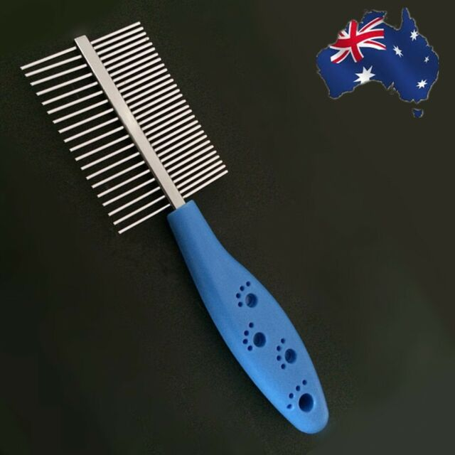 Pet Brush Animal Cat Dog Fur Hair Grooming Trimmer Comb Steel PBRUS1005
