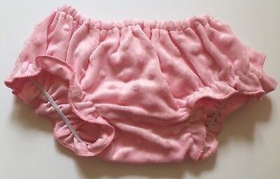Adroit New! Baby Diaper Cover Bloomers Ruffle Pink