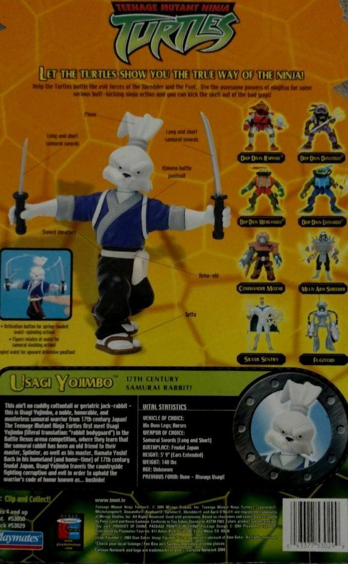 Teenage Teenage Teenage Mutant Ninja Turtles 5  Usagi Yojimbo Samurai New Factory Sealed 2004 6a9720