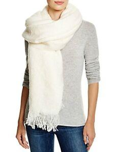 Aqua-Womens-Ivory-Soft-Blanket-Wrap-One-Size-Scarf