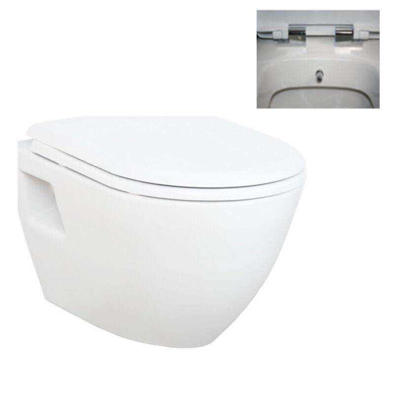 Projection courte mur hung tout en un combiné bidet toilette avec soft close siège