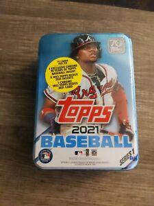2021 Topps Series 1 Baseball Collectible Tin Bryce Harper Factory Sealed MLB