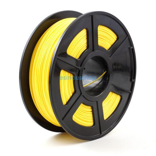 3D Printer Filament 1.75mm PLA 1kg 2.2lb multiple Colors MakerBot RepRap ES