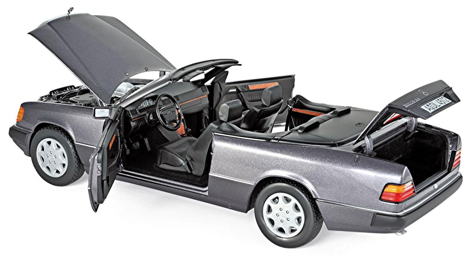 Mercedes-Benz 300 Ce a124 Cabriolet 1991-93 Bornite Métallisé  1 18 Norev  en solde 70% de réduction