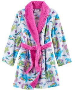 My Little Pony Girls Character Print Plush Robe Size 4 6 8 $42