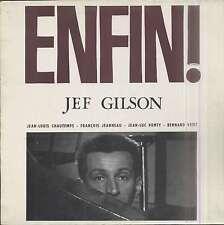 Jef GILSON Enfin ! French LP SPALAX 6837 JEANNEAU, VITET, PONTY, CHAUTEMPS