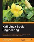 Kali Linux Social Engineering by Rahul Singh Patel (Paperback, 2014)
