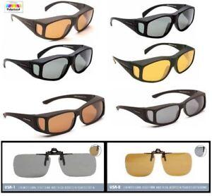 EyeLevel Polarized Overglasses / Clip-on Glasses / Fishing