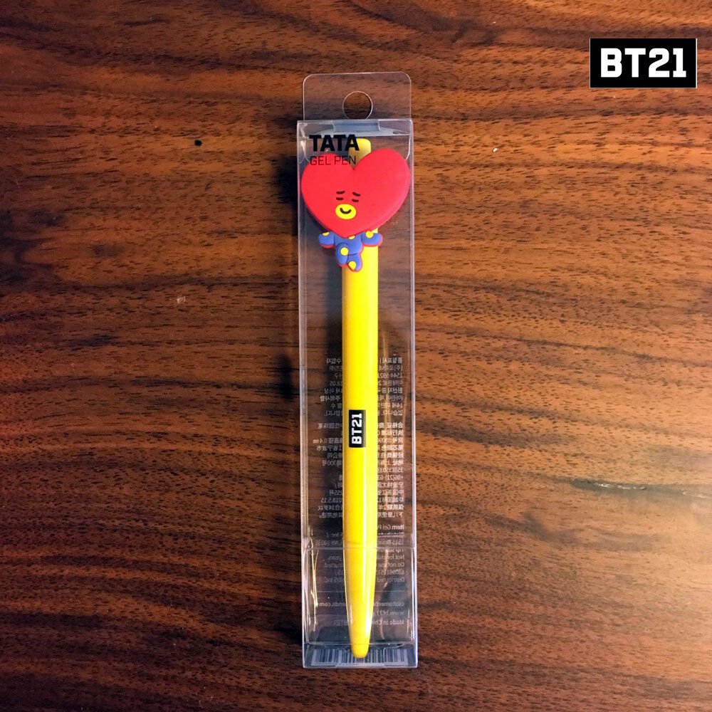 BTS BT21 Official Authentic Goods Gel Gel Gel Pen Active Ver 8SET Free Standard Shipping 673a0d