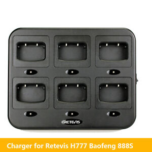 Retevis-Six-Way-Charger-Adapter-for-H777-Baofeng-888S-Walkie-Talkie-2-Way-Radios