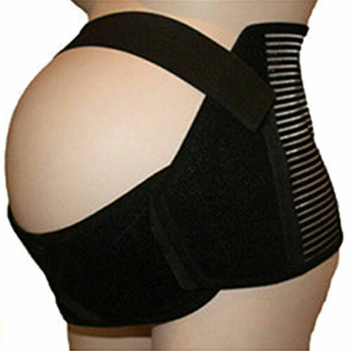 Plus Size Maternity Pregnancy Support Belt Belly Lumbar Brace Waist Abdomen Bump