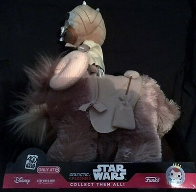 Star Wars 40th Target Exclusive Tusken Raider /& Bantha galactique peluches NEUF!