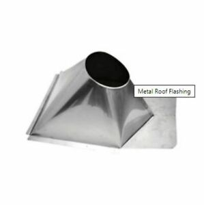 Copperfield 3601865 8'' Galvalume Metal Roof Flashing 0/12 To Pitch