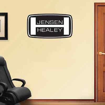 """Jensen Healey Racing Wall Decal Sticker 25"""" x 13"""""""