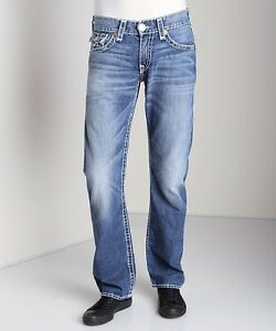 ff3fac699 True Religion Jeans Men s Ricky Super T RELAXED STRAIGHT W FLAP 100 ...
