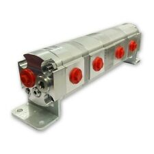 Geared Hydraulic Flow Divider 4 Way Valve 225ccrev With Centre Inlet