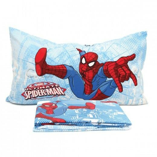 Completo lenzuola 1 p.za e mezza Caleffi Spider-Man mod. mod. mod. Graphic  3694d3