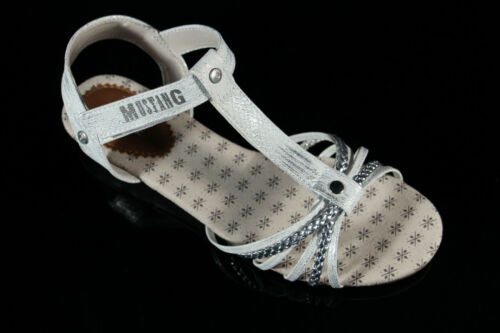 Mustang Mädchen Sandale Sandalette silber 5029-812 Neu!