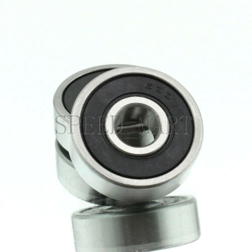 2PCS 6301-2RS 6304RS Deep Groove Rubber Shielded Ball Bearing 12mm*37mm*12mm
