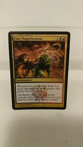 MTG-Magic-the-Gathering-Dissension-FOIL-Pain-Magnification-x1-LP
