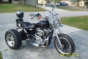 Details about Trike Conversion Kit for Harley Davidson Sportster XL (all  models)