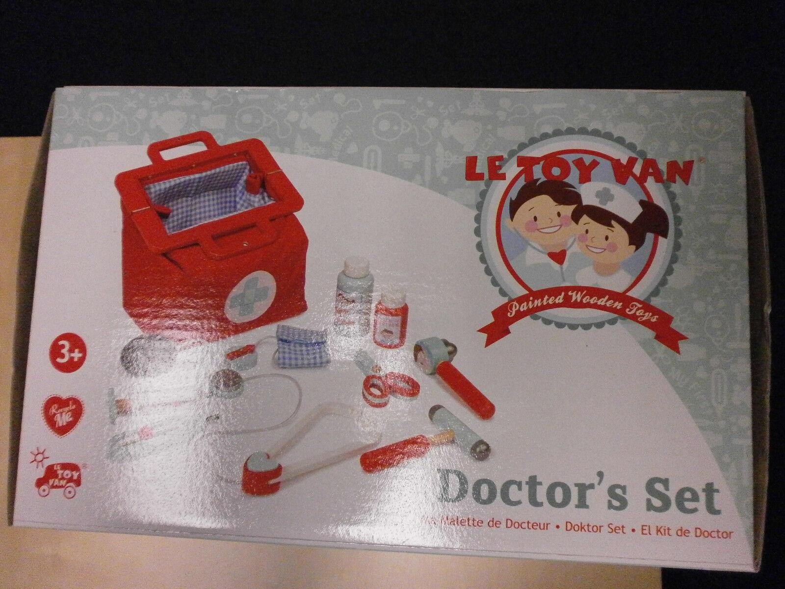 Kinder Arzttasche aus Stoff mit viel Inhalt rot ab 3 Jahren