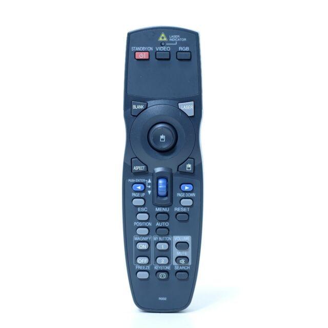Hitachi R002 (HL02194) Projector Remote Control, Laser TESTED, Genuine, JQA,