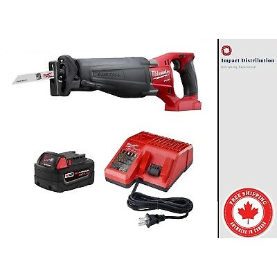 New Milwaukee 2720-21 M18TM FUELTM SAWZALL® Reciprocating Saw Kit