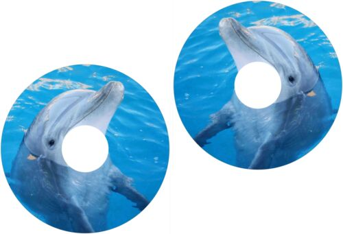 Wheelchair Spoke Guard Skins Dolphin Flipper Mobility Sticker 1276