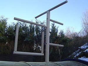 Klettergerüst Für Wellensittiche : Pipano klettergerüst mm mit schaukel sitzstange wellensittich