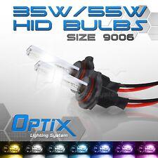 Optix 35W HID Xenon Bulbs Head Light Low 2x - 9006 HB4 / 8000k 8k Ice Blue (A)