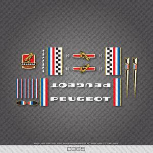 0365-peugeot-bicyclette-cadre-autocollants-decals-transfers
