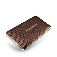 Harman Kardon Esquire Mini Brown Portable Wireless Speaker/conf System