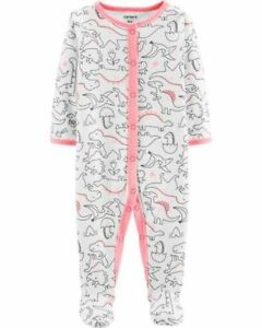 Baby & Toddler Clothing Nuovo Carter's Ragazza Sleep N Play Rosa Stampa Dinosauro & Al Piede Neonati 3m Convenient To Cook Clothing, Shoes & Accessories