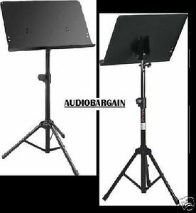 On-Stage-SM7211B-Conductors-Music-Stand-BUY-IT-NOW-FREE-SHIPPING-USA