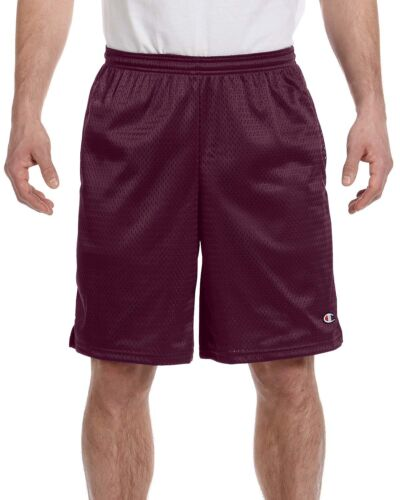 Champion Mens 9/'/' Athletic Long Mesh Pocket Short Gym Basketball S162-81622
