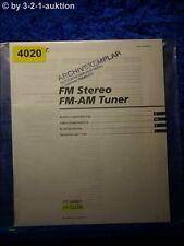 Sony Bedienungsanleitung ST JX661 /SE200 FM/AM Tuner (#4020)