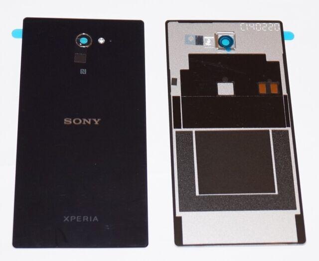 Original sony xperia m2 Dual (d2302) couvercle de batterie d', Battery Cover + NFC, Noir