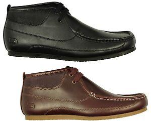 Nicholas Deakins mildert Men's Leather Sneaker Con Taglia.UK10