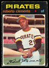1971 TOPPS OPC O PEE CHEE BASEBALL 630 ROBERTO CLEMENTE VG-EX Pittsburgh Pirates