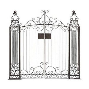 Image Is Loading Deco 79 41391 Metal Garden Gate 64 By