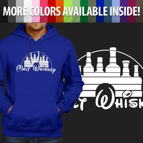 Malt Whiskey Humorous Funny Disney Parody Pullover Hoodie Jacket Hooded Sweater