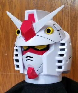 Gundam Mobile Suit Helmet Flip Top Stainless Steel Mug Cup Coffee Tea Storage