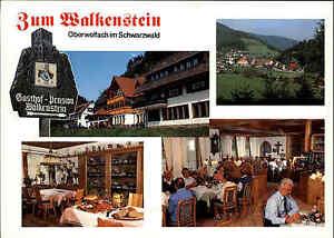 Oberwolfach-Schwarzwald-Postkarte-Ansichtskarte-Hotel-Gasthof-Zum-Walkenstein