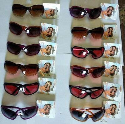 12 x Pairs of Fashion Round Lens Sunglasses Job Lot 582025