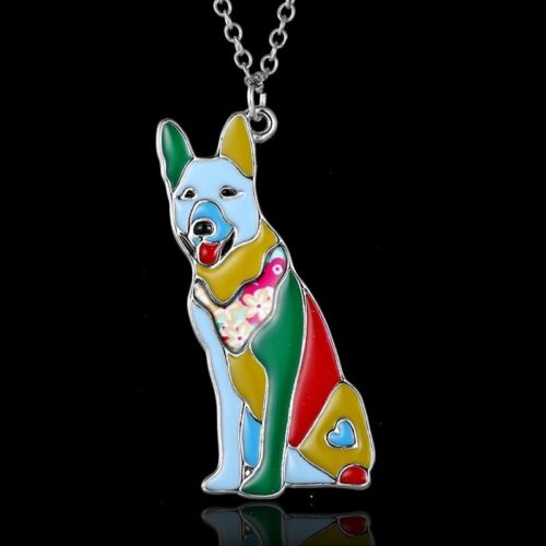Fashion Women Colorful Animal Butterfly Cat Dog Pendant Necklace Jewelry Gifts