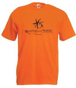 T-shirt Maglietta QLM_03 Quattro col Matto Manicomio Musicale Itinerante Band